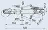 Тормоз наката ПРОФИ V-обр. 3000 кг с ЗУ для к.т. 1637 / 2051