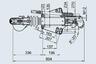 Тормоз наката ПРОФИ V-обр. 3500 кг с ЗУ для к.т. 1637 / 2051