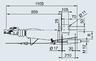 Тормоз наката 2,8 VB1/-C квадрат 120 мм c AK 351