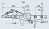 Тормоз наката VKT 60 90S/3 под квадрат 60 мм для к.т. 1637 / 2051