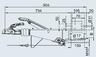 Тормоз наката VKT 100 251S под квадрат 100 мм (к.т. 2361)