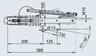 Тормоз наката V-образный 90 S/3 к.т. 1637/2051
