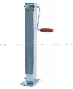 Домкратная телескопическая опорная стойка на 1000 кг без поворотного фланца