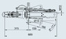 Тормоз наката V-образный 161S для к.т. 1637/2051