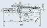 Тормоз наката V-образный 161S для к.т. 2361