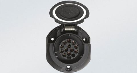 Схема подключения 13-ти контактной вилки