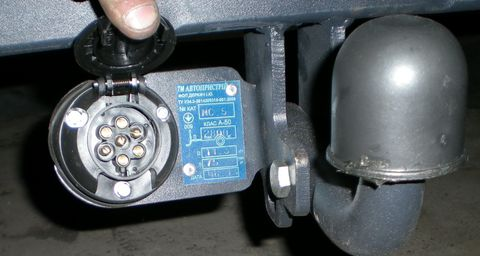 Схема подключения разъема прицепа (распиновка розетки фаркопа)