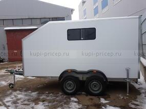 Двухосный прицеп-фургон Исток с аппарелью