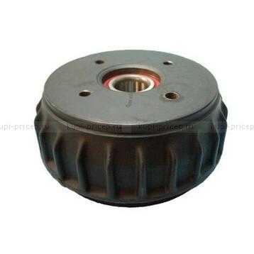 Тормозной барабан с подшипником для тормоза 1637, ступицы 98х4 М12х1.5
