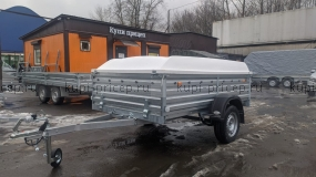 МЗСА 817704.014 с высоким бортом и пластиковой крышкой 67 см