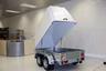 Пластиковая крышка для прицепов МЗСА 817701 и 817730 (h=1060 мм)