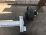 Ось резино-жгутовая с тормозом 2500 кг, к.т. 3062А 205х6