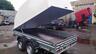 Пластиковая крышка для прицепов МЗСА 817718, 831134.111 (h=1200 мм)