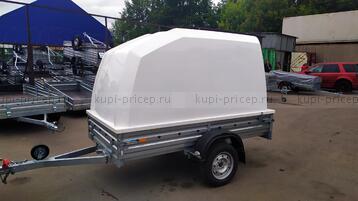 ПК-251415 Пластиковая крышка для прицепа МЗСА 817704 (h=1200 мм)