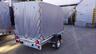 Тент с каркасом аэродинамический для прицепа МЗСА 817704 (h=150 см)