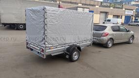 МЗСА 817703.012 с прямым тентом 155 см