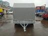 Тент с каркасом аэродинамический для прицепа МЗСА 817718, МЗСА 817736.012, МЗСА 831134.111 (h=180 см)