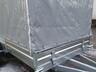 Тент с каркасом аэродинамический для прицепа МЗСА 817735 (h=180 см)