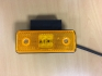 Желтые боковые фонари с установкой