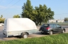 Пластиковая крышка для прицепов МЗСА 817712 и МЗСА 817731 (h=1200 мм)