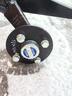 Ось резино-жгутовая 750 кг усиленная без тормоза