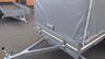 Тент с каркасом аэродинамический для прицепа МЗСА 817717.032 (h=150 см)