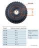 Ось резино-жгутовая с тормозом 1800 кг, к.т.2361 112х5 (водозащищенная)