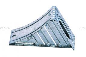 Противооткатные упоры 36 ST c держателями (г/п 3200 кг, сталь) и установкой