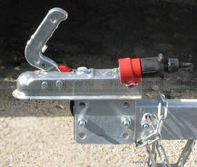 Регулятор высоты замкового устройства на дышло 40 мм