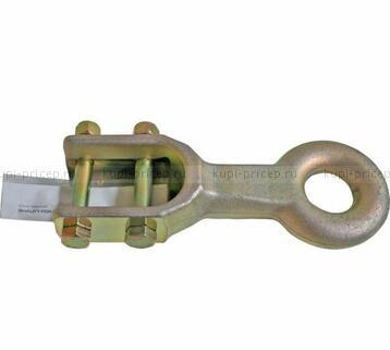 Сцепная петля DIN d=40 мм с крепежом