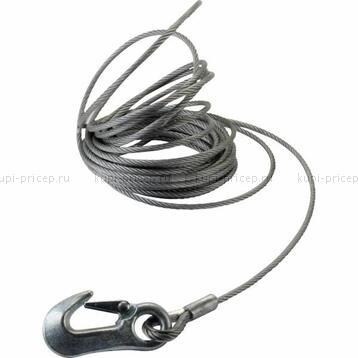 Трос для лебедки 12,5 м d=7 мм для AL-KO Basic 900 / Plus 901