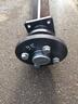 Ось 1300 кг для рессорной подвески для легкового прицепа МЗСА 817702, 817703, 817714, 817712, 817717, 817731, 817732, 817735