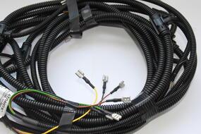 Замена проводки прицепа