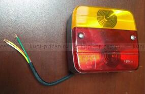 Задний 4-х функциональный фонарь с проводом 1 м