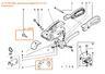 Фрикционы (накладки) для замкового устройства-стабилизатора AKS 3004