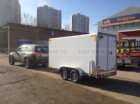 Двухосный прицеп-фургон Исток