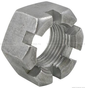 Гайка корончатая ступицы М24х1,5 для к.т. 2361 с коническими подшипниками