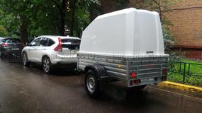 МЗСА 817704.014 с высоким бортом и пластиковой крышкой 167 см