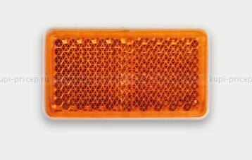 Отражатель (катафот) самоклеящийся оранжевый FT-46х26 Z