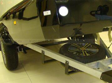 Крепеж наружный для запасного колеса