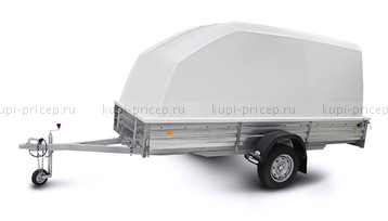 ПК-311515 Пластиковая крышка для прицепов МЗСА 817712 и МЗСА 817731 (h=1200 мм)