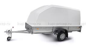 Пластиковая крышка для прицепов МЗСА 817716 и 831123.201 (h=1200 мм)