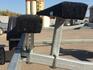 Кронштейны для ложементов увеличенной высоты для лодок ПВХ и плоскодонных судов (4 шт.)