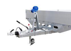 Лебедка 900 кг МЗСА 4500.0028 с кронштейном для МЗСА 8322