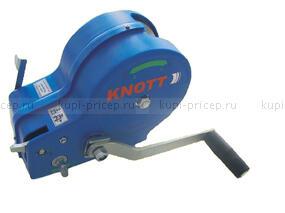 Лебедка ручная Knott г/п 1150 кг c фалом