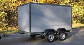 Прицеп-фургон МЗСА для легкового автомобиля