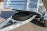 Пластина крепления запасного колеса МЗСА
