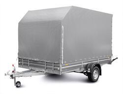 Тент с каркасом аэродинамический для прицепа МЗСА 817718.012, МЗСА 817736.012, МЗСА 831134.111 и МЗСА 832134.201 (h=180 см)