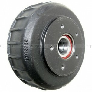 Тормозной барабан для тормоза AL-KO 2361, ступицы 140х5 М14х1.5